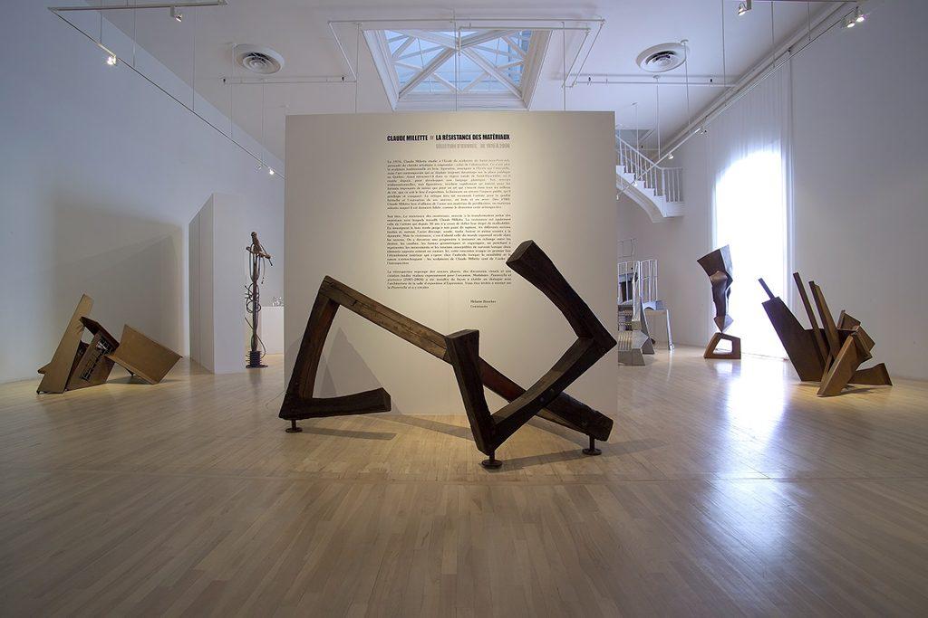 Vue d'ensemble de l'exposition à Expression, centre d'exposition de Saint-Hyacinthe