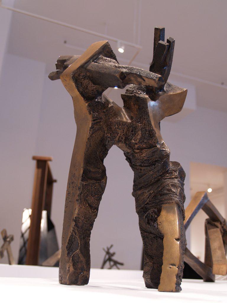 Stress, 1983, bronze, 40 x 29 x 22 cm