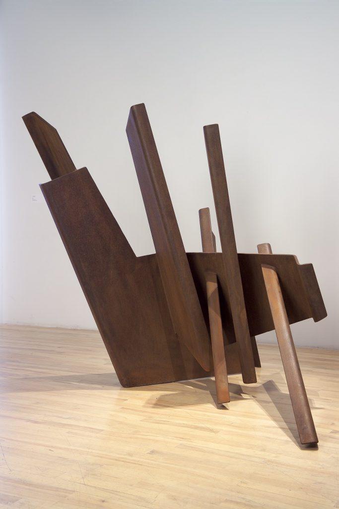 Féminin pluriel, acier, 138,5 x 150,5 x 87,5 cm